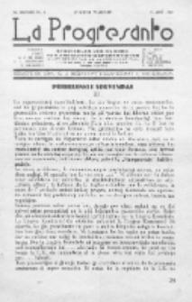 La Progresanto : studieblad van de Federatie van Arbeiders-Esperantisten in het Gebied van de Nederlandse Taal. Jaargang 10, no 4 (April 1948)