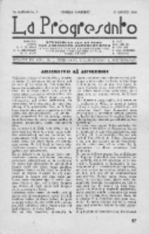La Progresanto : studieblad van de Federatie van Arbeiders-Esperantisten in het Gebied van de Nederlandse Taal. Jaargang 10, no 8 (Augustus 1948)
