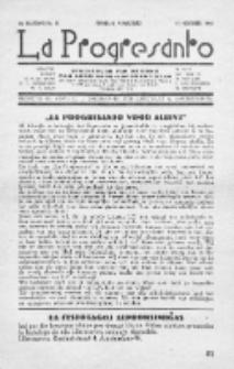 La Progresanto : studieblad van de Federatie van Arbeiders-Esperantisten in het Gebied van de Nederlandse Taal. Jaargang 10, no 11 (November 1948)