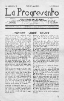 La Progresanto : studieblad van de Federatie van Arbeiders-Esperantisten in het Gebied van de Nederlandse Taal. Jaargang 10, no 10 (October 1948)