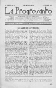 La Progresanto : studieblad van de Federatie van Arbeiders-Esperantisten in het Gebied van de Nederlandse Taal. Jaargang 10, no 9 (September 1948)