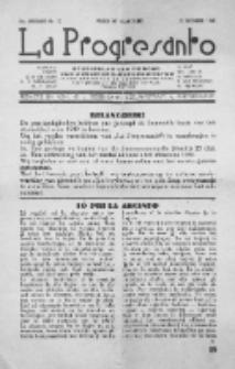 La Progresanto : studieblad van de Federatie van Arbeiders-Esperantisten in het Gebied van de Nederlandse Taal. Jaargang 10, no 12 (December 1948)