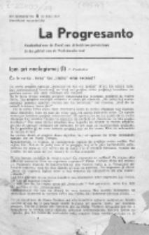 La Progresanto : studieblad van de Federatie van Arbeiders-Esperantisten in het Gebied van de Nederlandse Taal. Jaargang 19, no 6 (Juni 1957)