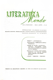 Literatura Mondo.Periodo 3, Jaro 2, numero 3/4 (1948)