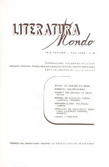 Literatura Mondo.Periodo 3, Jaro 2, numero 9/10 (1948)
