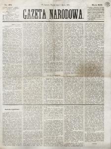 Gazeta Narodowa. R. 13 (1874), nr 50 (3 marca)