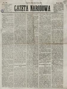 Gazeta Narodowa. R. 13 (1874), nr 51 (4 marca)