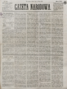Gazeta Narodowa. R. 13 (1874), nr 60 (14 marca)