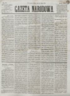 Gazeta Narodowa. R. 13 (1874), nr 71 (28 marca)