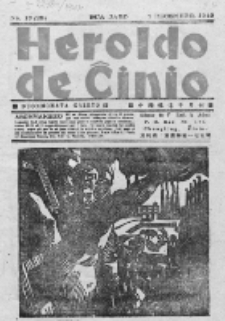 Heroldo de Ĉinio : duonmonata gazeto. Dua Jaro, No 17=29 (Decembro1940)