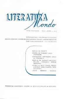 Literatura Mondo.Periodo 3, Jaro 2, numero 5/6 (1948)