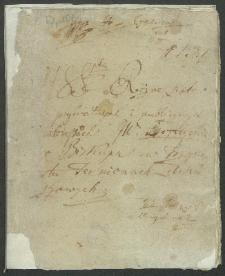 Manuskrypta różne listów w prywatnych i publicznych interessach JW [Atanazego] Szeptyckiego biskupa