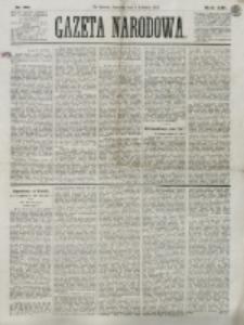Gazeta Narodowa. R. 13 (1874), nr 80 (9 kwietnia)