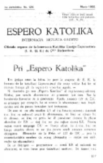 Espero Katolika.Jarkolekto 14a, No 126 (1922)
