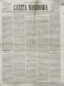 Gazeta Narodowa. R. 13 (1874), nr 86 (16 kwietnia)