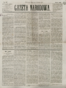 Gazeta Narodowa. R. 13 (1874), nr 87 (17 kwietnia)