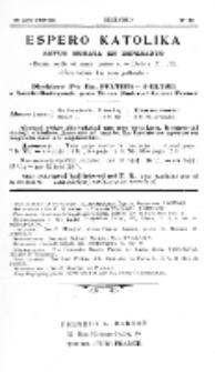 Espero Katolika.Jaro 3a, No 23 (1904/1905)