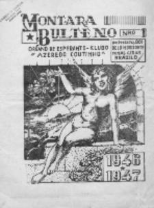 "Montara Bulteno : organo de Esperanto-Klubo ""Azeredo Coutinho"". No 1 (1946/1947)"