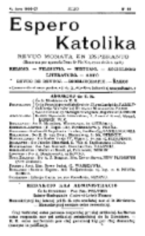 Espero Katolika.Jaro 4a, No 40 (1906/1907)