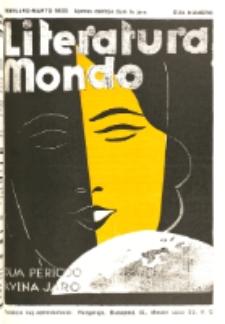 Literatura Mondo. Periodo 2, Jaro 5, numero 2 (Februaro-Marto 1935)