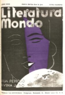 Literatura Mondo. Periodo 2, Jaro 5, numero 5 (Junio 1935)