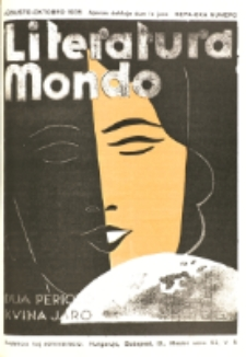 Literatura Mondo. Periodo 2, Jaro 5, numero 7/8 (Augusto-Oktobro 1935)