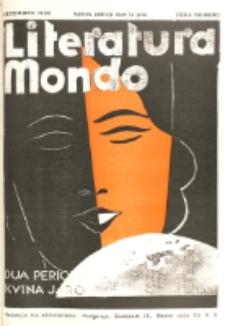 Literatura Mondo. Periodo 2, Jaro 5, numero 10 (Decembro 1935)
