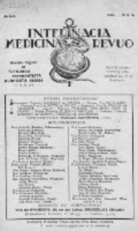 Internacia Medicina Revuo : oficiala Organo de Tutmonda Esperantista Kuracista Asocio. Jaro 8, no 4 (1930)