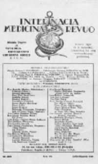 Internacia Medicina Revuo : oficiala Organo de Tutmonda Esperantista Kuracista Asocio. Jaro 9, no 7/8 (1931)