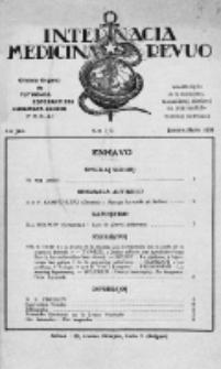 Internacia Medicina Revuo : oficiala Organo de Tutmonda Esperantista Kuracista Asocio. Jaro 14 a, no 1/3 (1936)