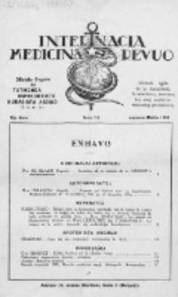 Internacia Medicina Revuo : oficiala Organo de Tutmonda Esperantista Kuracista Asocio. Jaro 13a, no 1/3 (1935)