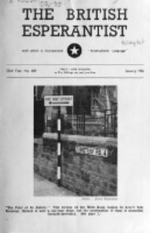 The British Esperantist : the official organ of the British Esperanto Association. Vol. 52, no 609 (January 1956)