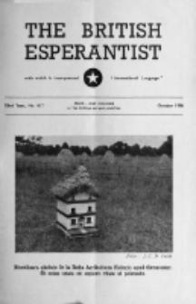 The British Esperantist : the official organ of the British Esperanto Association. Vol. 52, no 617 (October 1956)