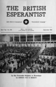 The British Esperantist : the official organ of the British Esperanto Association. Vol. 52, no 616 (September 1956)