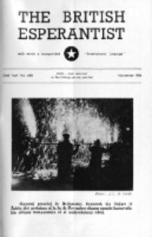 The British Esperantist : the official organ of the British Esperanto Association. Vol. 52, no 618 (November 1956)