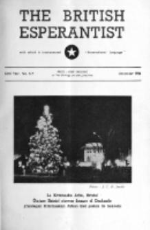 The British Esperantist : the official organ of the British Esperanto Association. Vol. 52, no 619 (December 1956)
