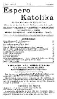 Espero Katolika.Jaro 5a, No 43 (1907/1908)