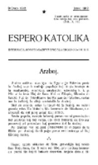 Espero Katolika.Jaro 9a (junio 1912)
