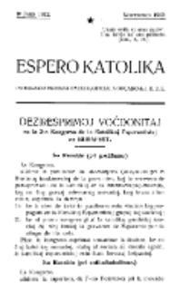 Espero Katolika.Jaro 9a (novembro 1912)