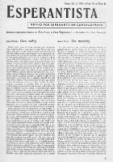 Esperantista : revuo por esperanto en Ĉeĥoslovakio. Roc. 6, Cis. 2 (1951)