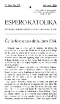 Espero Katolika.Jaro 11a, No 102 (1914)