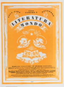 Literatura Mondo. Jaro 1, numero 3 (Decembro 1922)