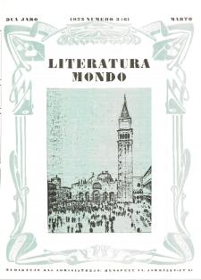 Literatura Mondo. Jaro 2, numero 3=6 (Marto 1923)