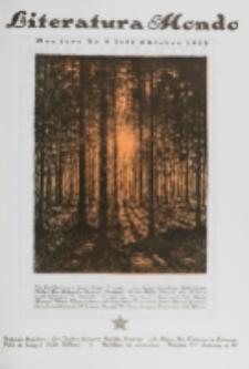 Literatura Mondo. Jaro 2, numero 10=13 (Oktobro 1923)