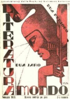Literatura Mondo. Periodo 2, Jaro 2, numero 2 (Februaro 1932)