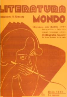 Literatura Mondo. Periodo 2, Jaro 3, numero 5 (Majo 1933)