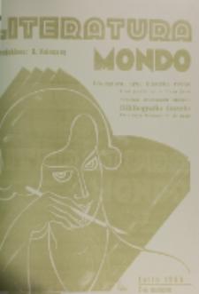 Literatura Mondo. Periodo 2, Jaro 3, numero 7 (Julio 1933)