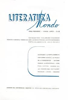 Literatura Mondo. Periodo 3, Jaro 1, numero 5-6 (1947)
