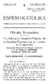 Espero Katolika.Jaro 11a, No 108 (1914)
