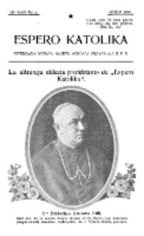 Espero Katolika.Jaro 12a, No 4 (1920)